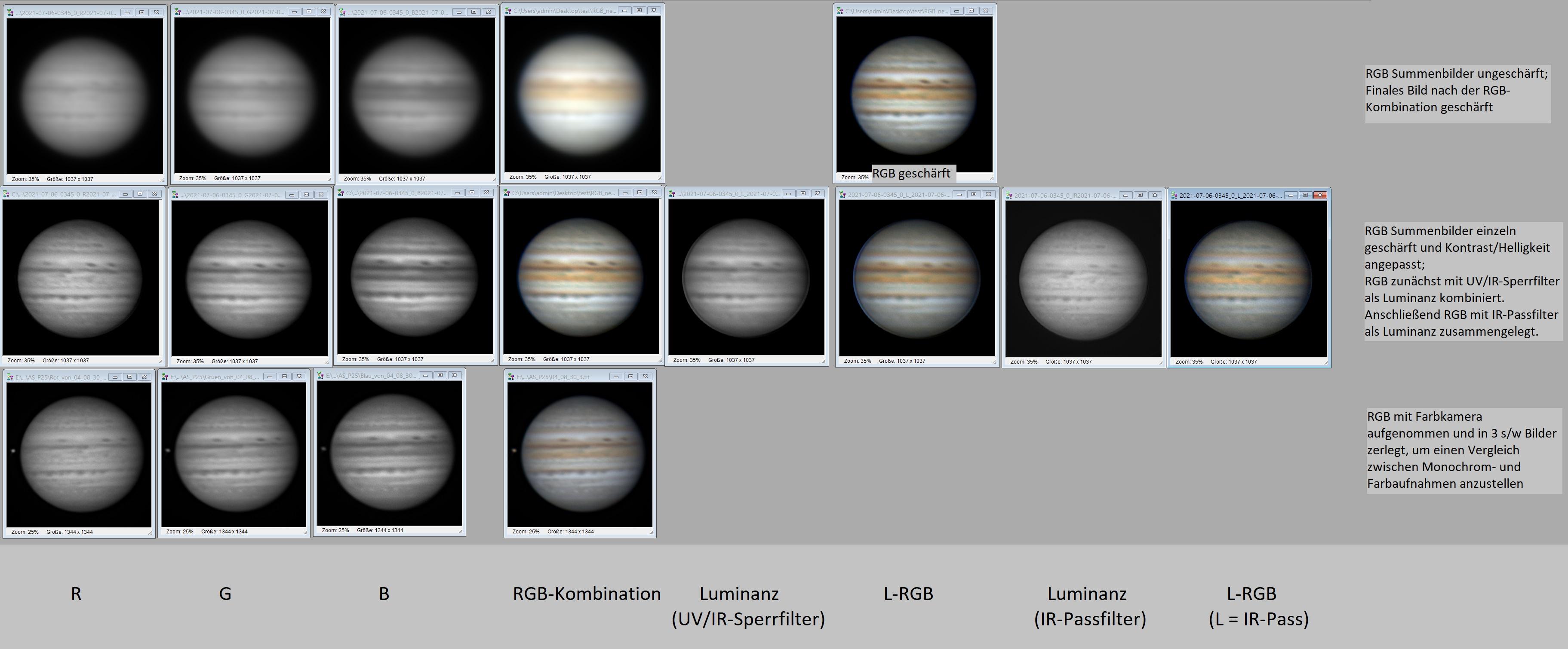 Jupiter_monochrom_farbkamera_vergleich