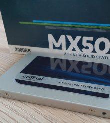 Crucial MX500 – SSD mit 2TB im Test
