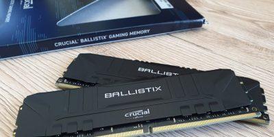 Crucial Ballistix DDR4-3200 32 GB Kit im Test