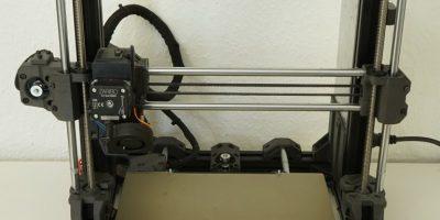 Caribou3d MK3s: Upgrade von 8 auf 10mm