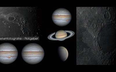 Planeten fotografieren – Tutorial für Einsteiger und Fortgeschrittene
