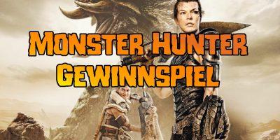 Monster Hunter Blu-ray zu gewinnen!